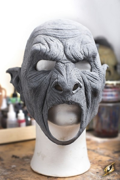 Large Beastial Orc Mask – Unpainted