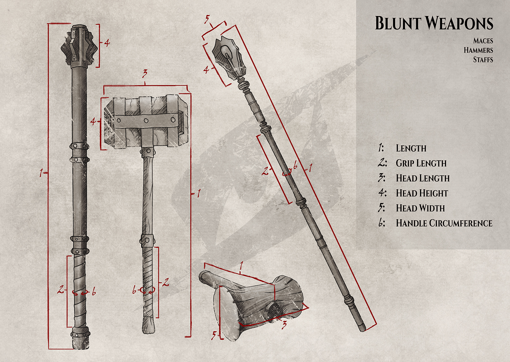 Size-guide-Hammers-and-maces
