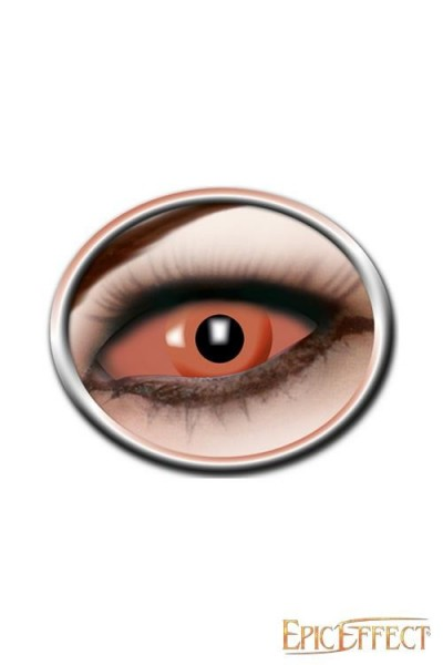 Orange Eye Sclera Lenses