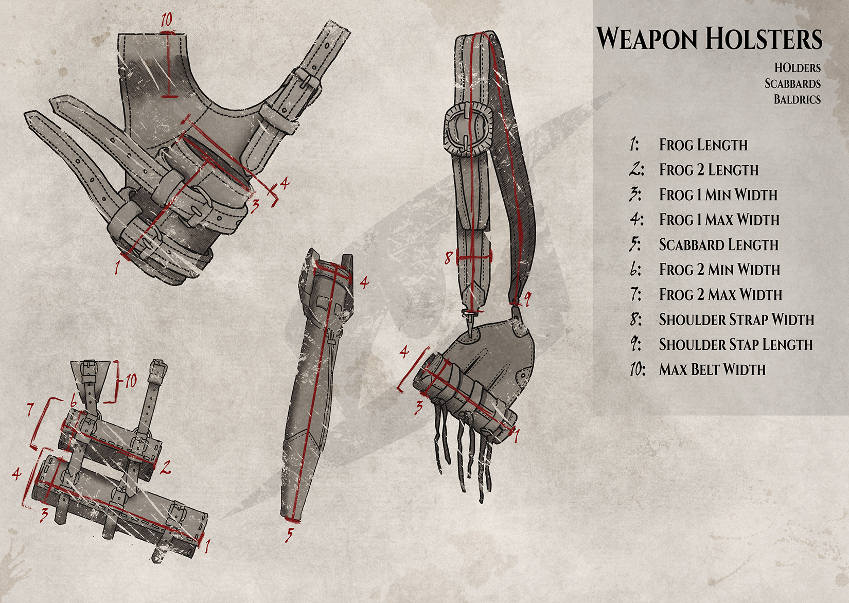 Size-guide-Weapon-Holsters