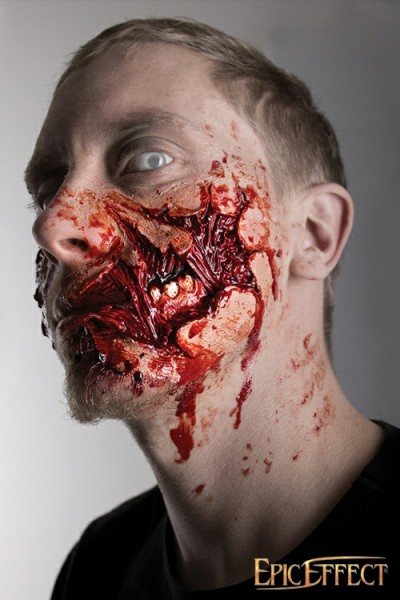Zombie Cheek Torn