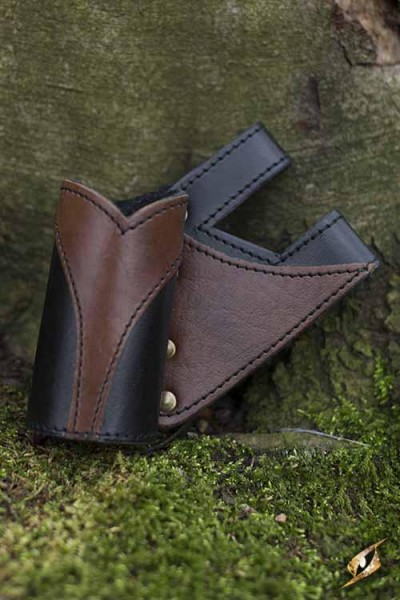Right Hand Victory Holder (Black/Brown)