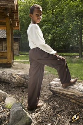 Pants Samy - Dark Brown