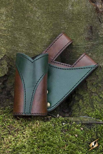 Right Hand Victory Holder (Brown/Green)