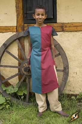 Tabard Arthur - Blue/Dark Red