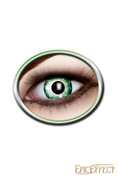 Bright Green Lenses (Two Tone)