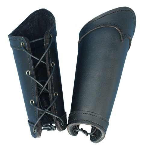 Black Warrior Bracers (Large)