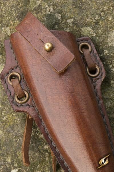 Woodsman Knife Holder - Brown