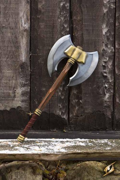Doubleheaded Battle Axe