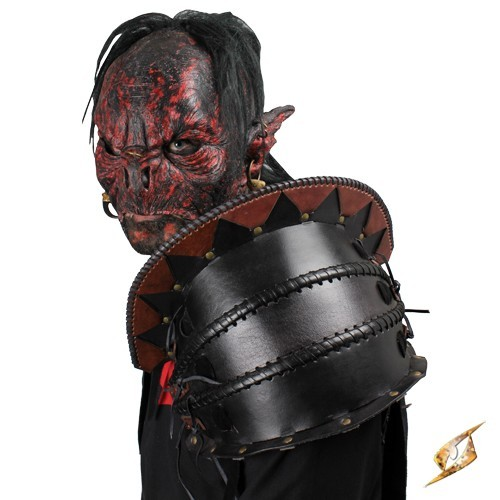 Orc Shoulder Armour - Brown