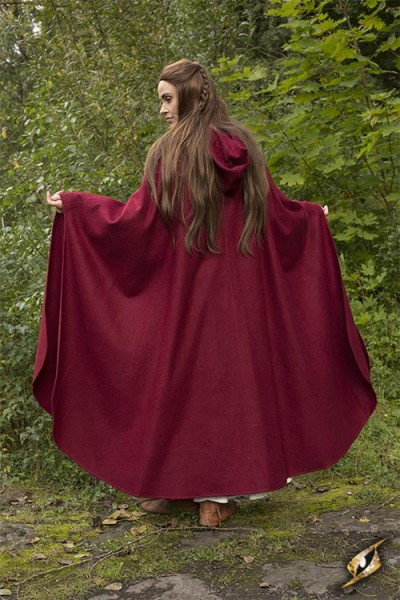 Godfrey Cape (Wool) – Red
